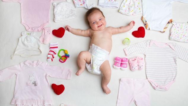 classico materiale selezionato di prim'ordine Corredino del neonato, come farlo e cosa comprare - Paginemamma