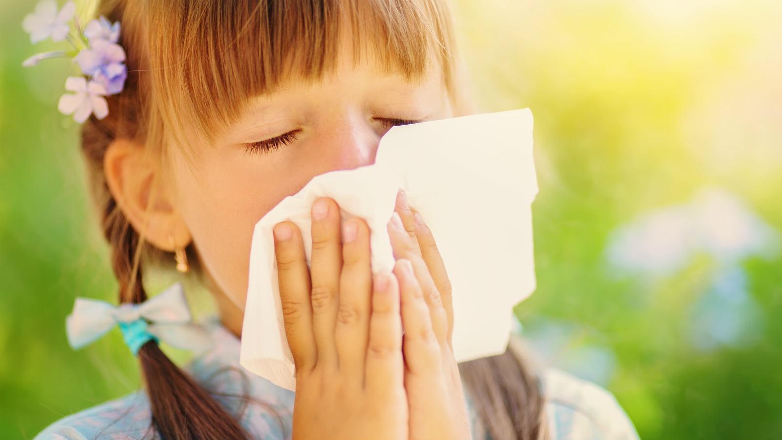 Allergie ai pollini nei bambini