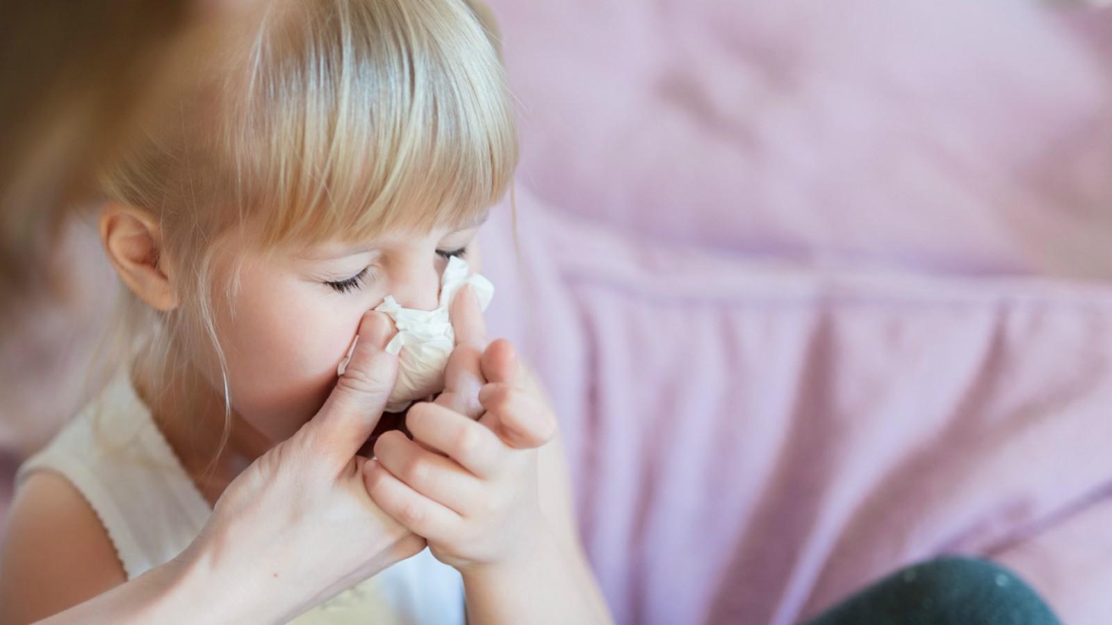 Consigli per il raffreddore dei bambini