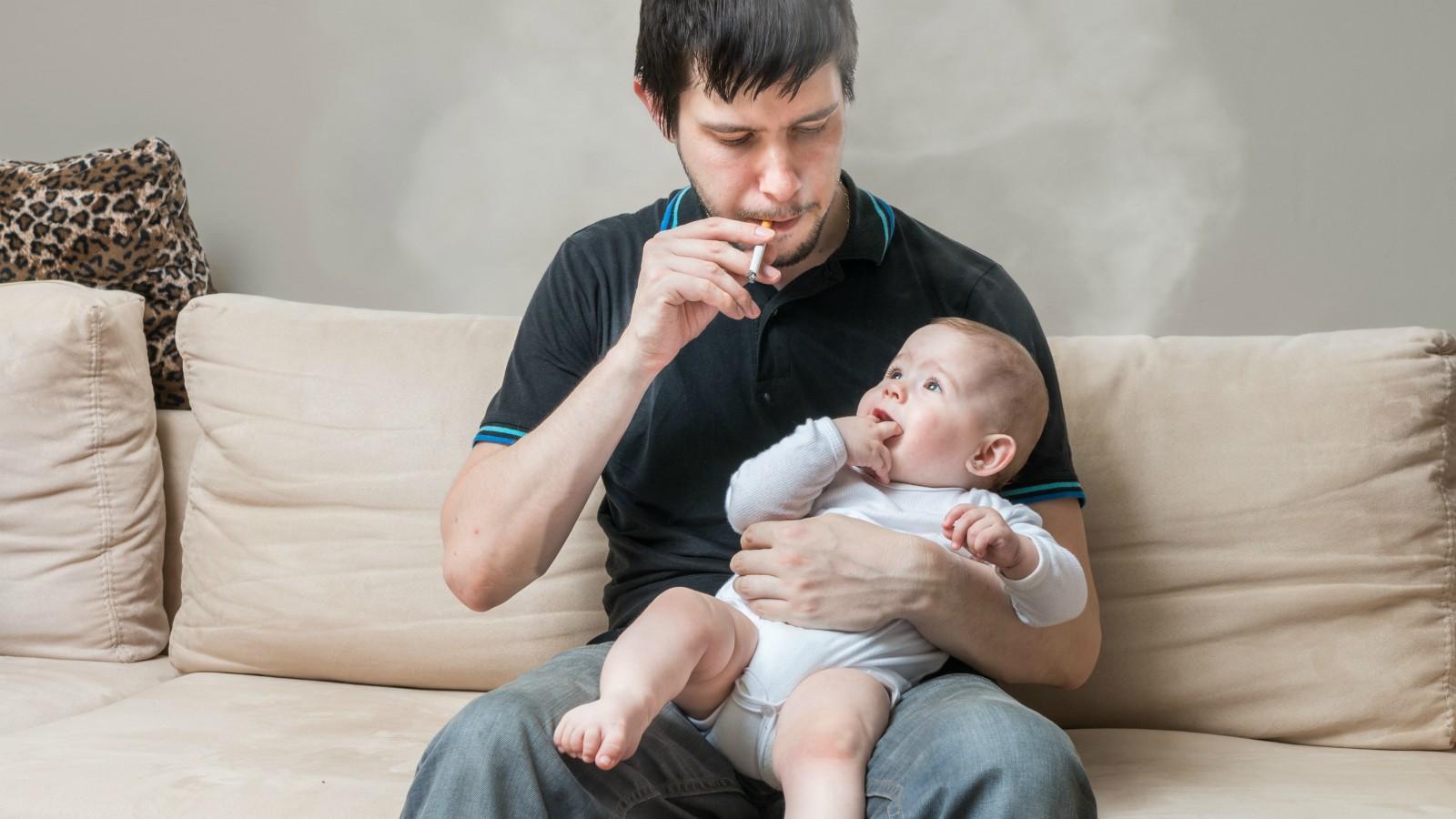 I danni del fumo passivo sui bambini