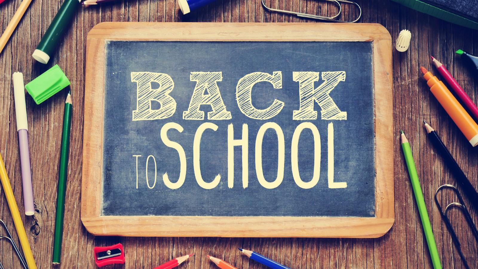 Ritorno a scuola dopo le vacanze estive