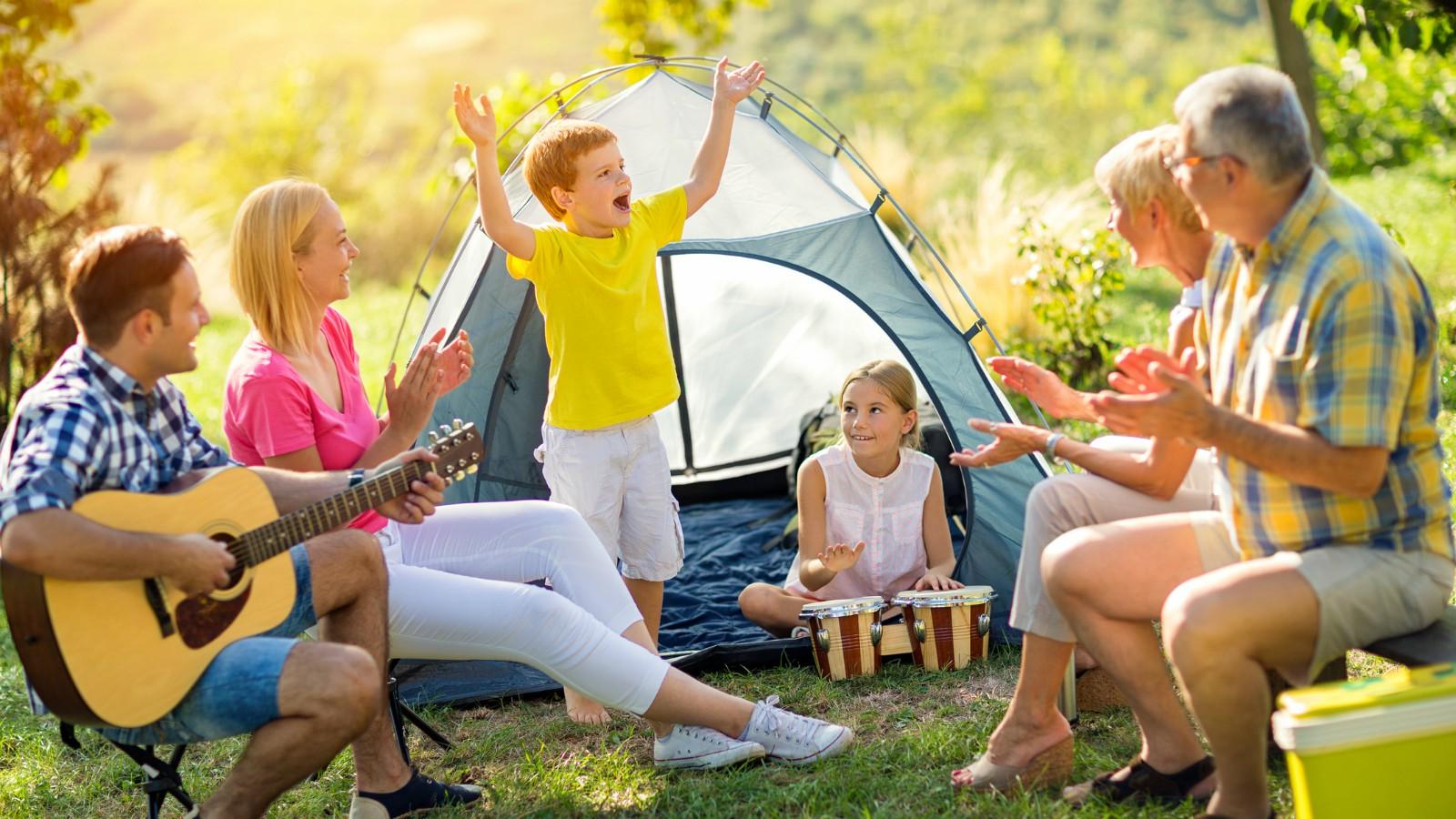 Vacanze in campeggio con i bambini
